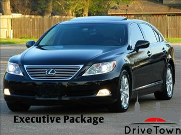 2007 Lexus LS 460 for sale at Drive Town in Houston TX