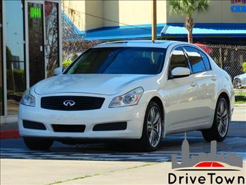 2009 Infiniti G37 Sedan for sale at Drive Town in Houston TX