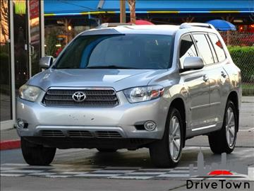 2008 Toyota Highlander Hybrid for sale at Drive Town in Houston TX