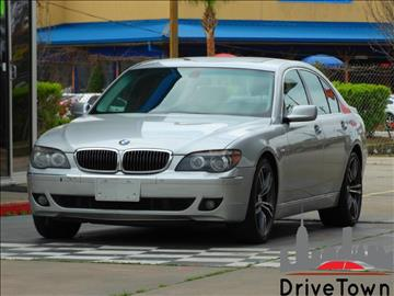 2007 BMW 7 Series for sale at Drive Town in Houston TX