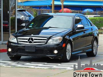 2009 Mercedes-Benz C-Class for sale at Drive Town in Houston TX