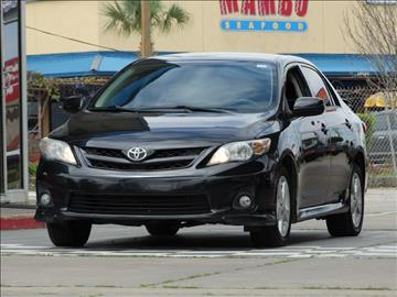 2011 Toyota Corolla for sale at Drive Town in Houston TX