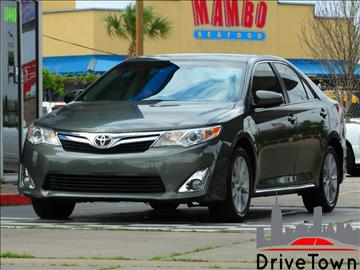 2012 Toyota Camry for sale at Drive Town in Houston TX