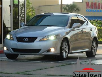 2007 Lexus IS 250 for sale at Drive Town in Houston TX