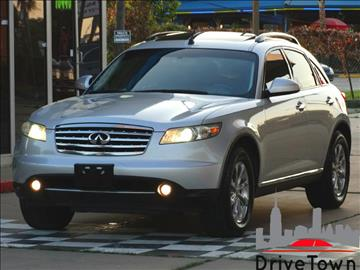 2008 Infiniti FX35 for sale at Drive Town in Houston TX