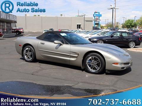 2000 Chevrolet Corvette for sale in Las Vegas, NV