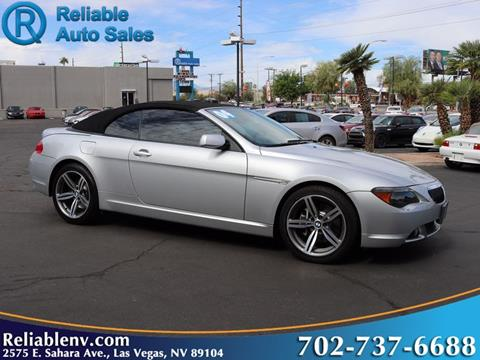 2004 BMW 6 Series for sale in Las Vegas, NV