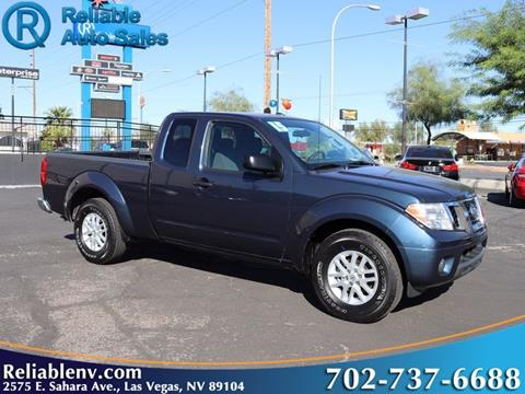 2015 Nissan Frontier for sale in Las Vegas, NV