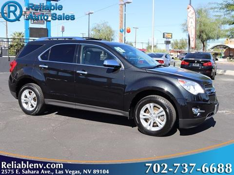 2012 Chevrolet Equinox for sale in Las Vegas, NV