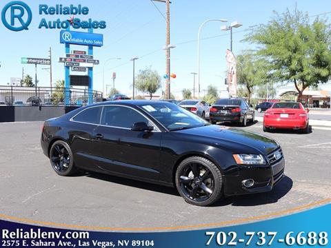 2010 Audi A5 for sale in Las Vegas, NV