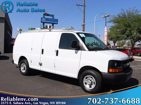 2008 Chevrolet Express Cargo for sale in Las Vegas, NV