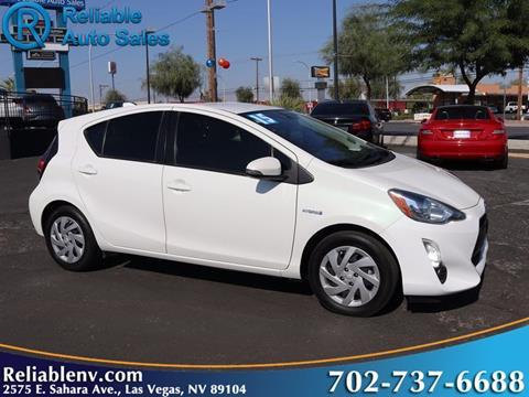 2015 Toyota Prius c for sale in Las Vegas, NV