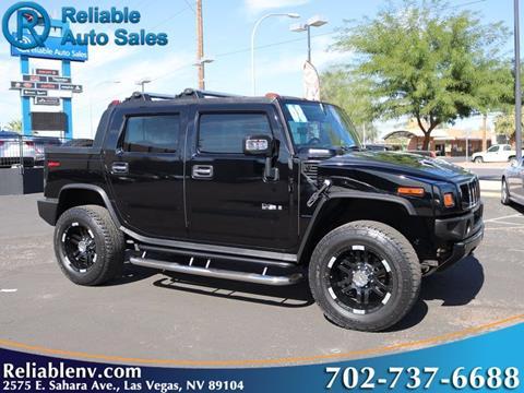 2008 HUMMER H2 SUT for sale in Las Vegas, NV