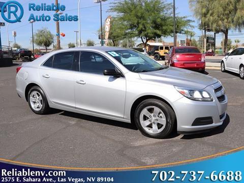 2013 Chevrolet Malibu for sale in Las Vegas, NV