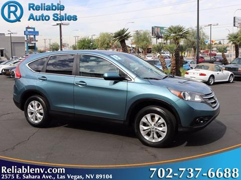 2013 Honda CR-V for sale in Las Vegas, NV