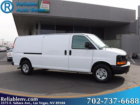 2012 Chevrolet Express Cargo for sale in Las Vegas, NV