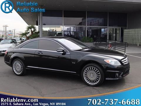2007 Mercedes-Benz CL-Class for sale in Las Vegas, NV