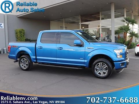 2015 Ford F-150 for sale in Las Vegas, NV