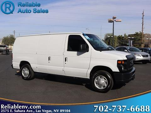 2014 Ford E Series Cargo For Sale In Las Vegas NV