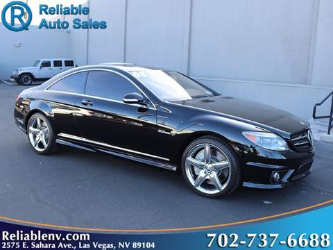 2008 Mercedes Benz CL Class For Sale In Las Vegas, NV