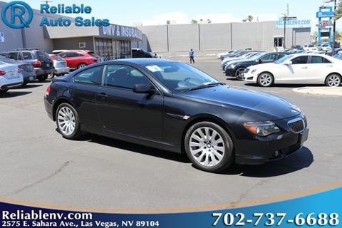 used bmw 6 series for sale in las vegas, nv - carsforsale®