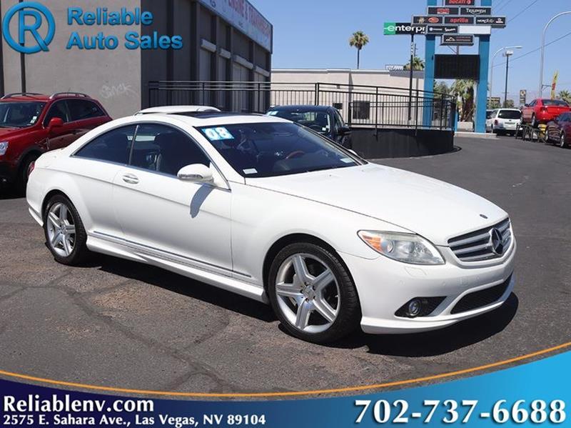 Las Vegas Cl >> 2008 Mercedes Benz Cl Class Cl 550 2dr Coupe In Las Vegas Nv
