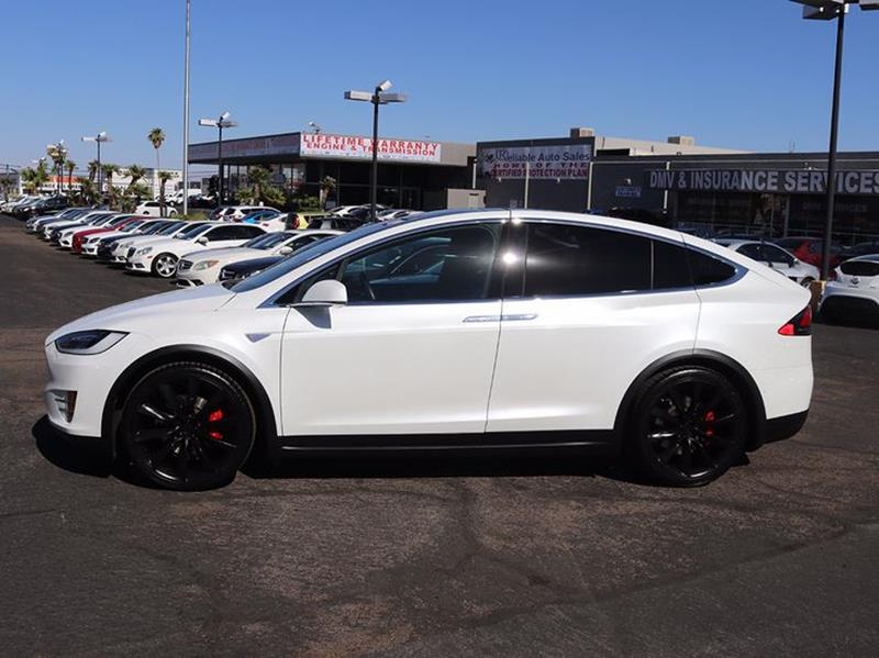 2016 tesla model x awd p90d 4dr suv in las vegas nv reliable auto sales. Black Bedroom Furniture Sets. Home Design Ideas