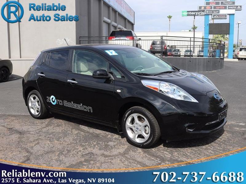 2012 Nissan LEAF SL 4dr Hatchback   Las Vegas NV