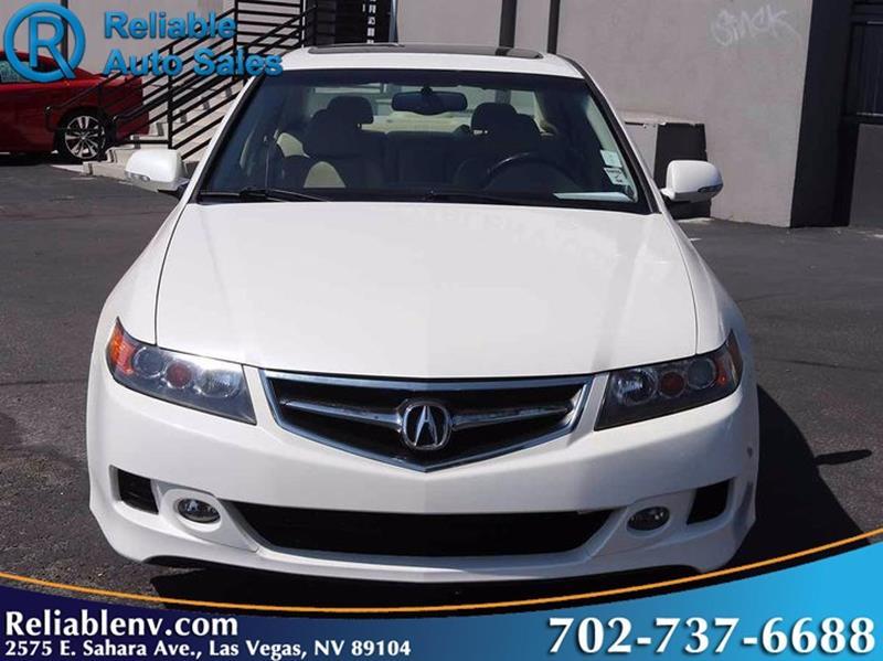 Acura Tsx Dr Sedan A WNavi In Las Vegas NV Reliable Auto Sales - 2006 acura tsx bumper