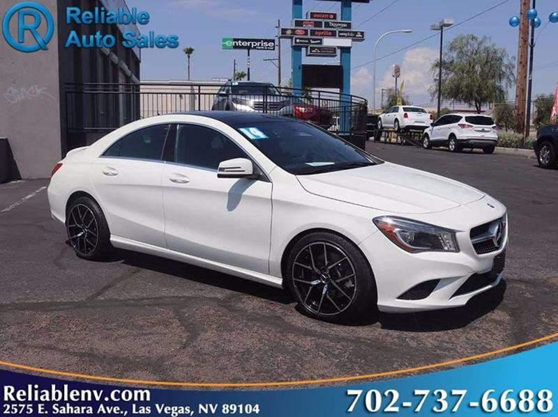 2014 Mercedes Benz CLA CLA 250 4dr Sedan   Las Vegas NV