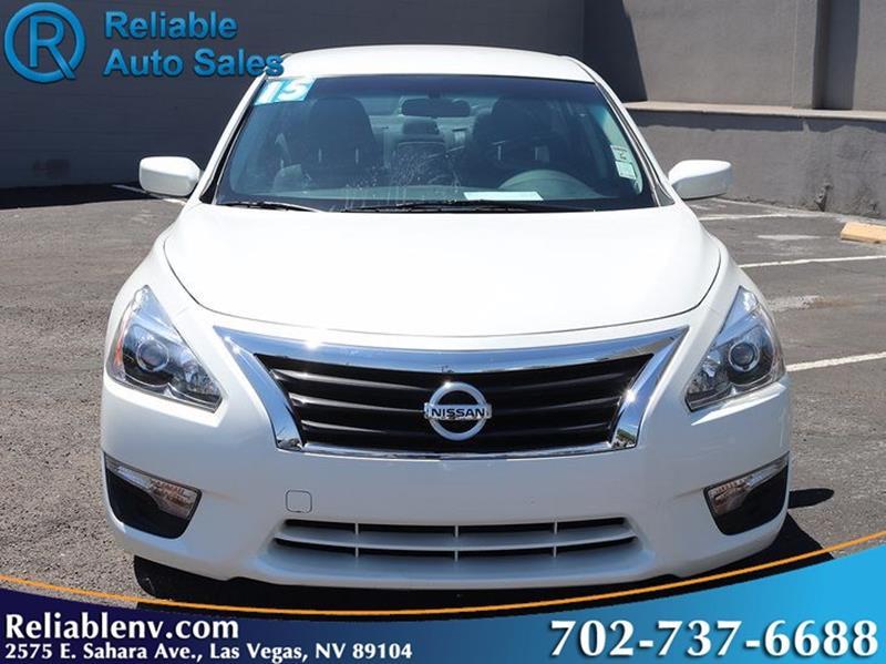 2015 Nissan Altima 2.5 S 4dr Sedan   Las Vegas NV