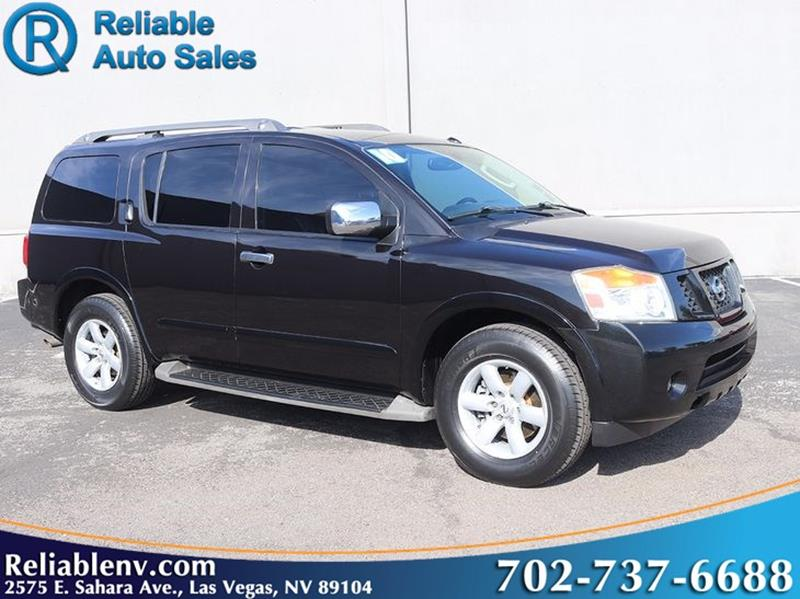 2010 Nissan Armada 4x2 Se 4dr Suv In Las Vegas Nv Reliable Auto Sales