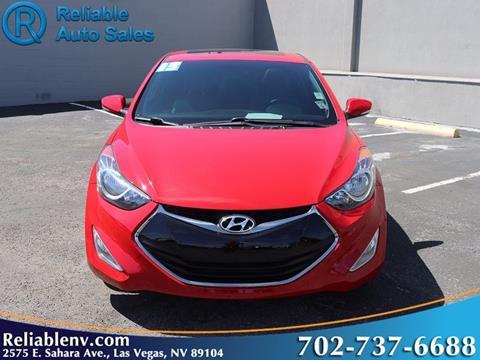 2013 Hyundai Elantra Coupe For Sale In Las Vegas, NV