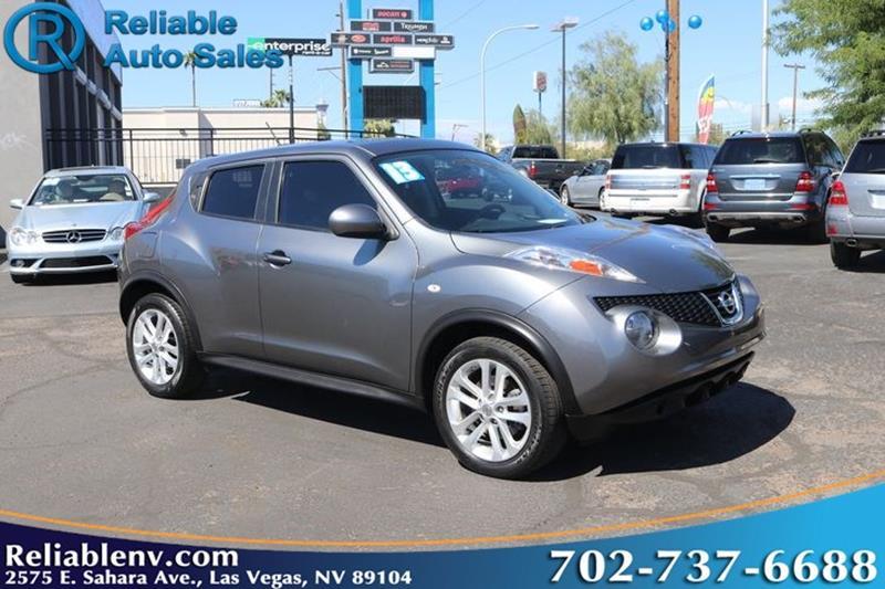 2013 Nissan JUKE SV W / CPO WARRANTY   Las Vegas NV