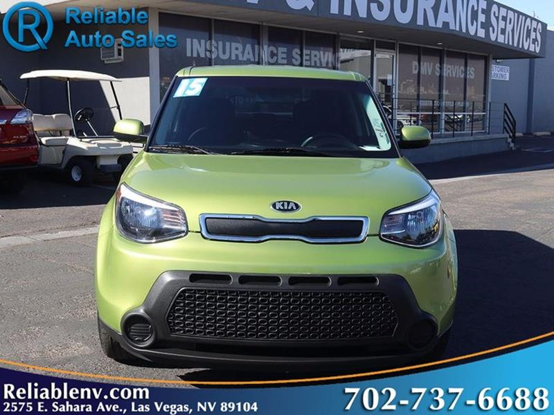 2015 kia soul 4dr wagon 6a in las vegas nv reliable auto sales. Black Bedroom Furniture Sets. Home Design Ideas