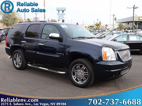 2008 GMC Yukon for sale in Las Vegas, NV