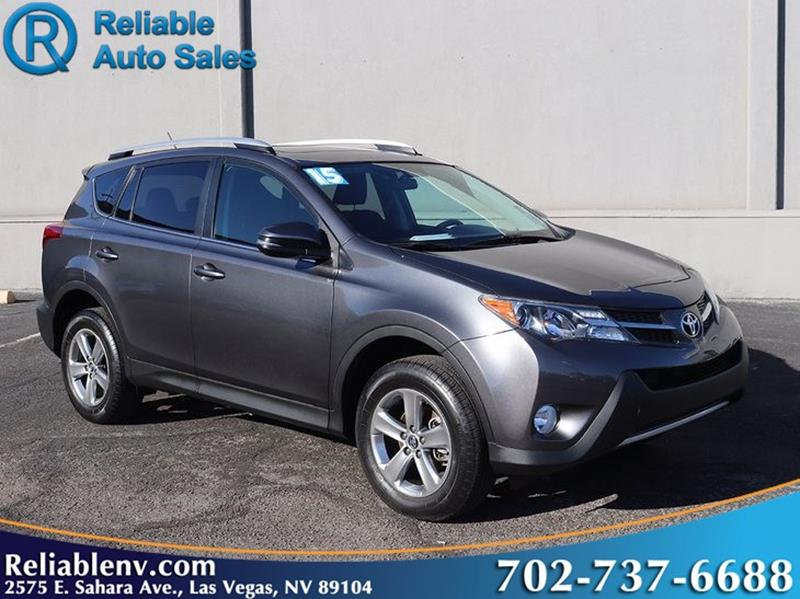 2015 toyota rav4 xle 4dr suv in las vegas nv reliable auto sales. Black Bedroom Furniture Sets. Home Design Ideas