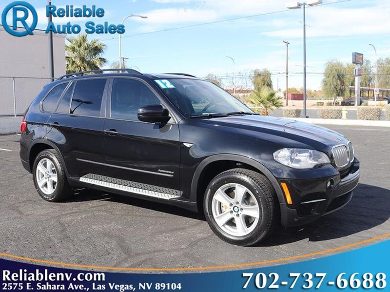 2012 bmw x5 awd xdrive35d 4dr suv in las vegas nv reliable auto sales. Black Bedroom Furniture Sets. Home Design Ideas