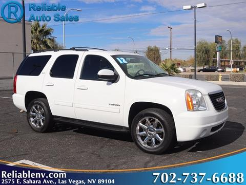 2012 GMC Yukon for sale in Las Vegas, NV