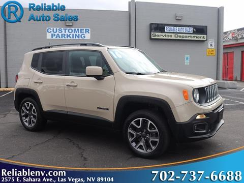 2016 Jeep Renegade for sale in Las Vegas, NV