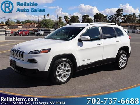 2017 Jeep Cherokee for sale in Las Vegas, NV