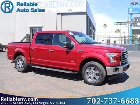 2017 Ford F-150 for sale in Las Vegas, NV