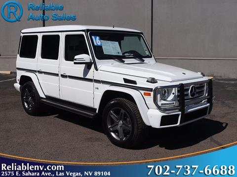 2016 Mercedes-Benz G-Class for sale in Las Vegas, NV