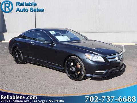 Cl Las Vegas >> 2013 Mercedes Benz Cl Class For Sale In Las Vegas Nv