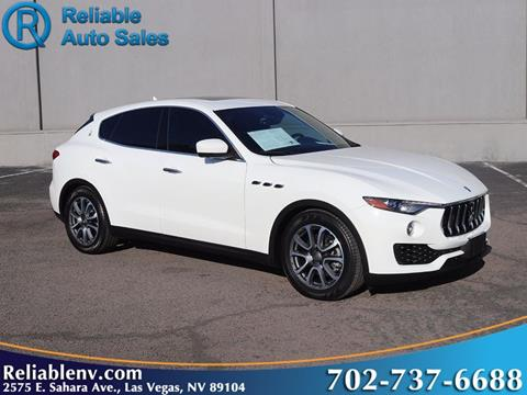 2017 Maserati Levante for sale in Las Vegas, NV