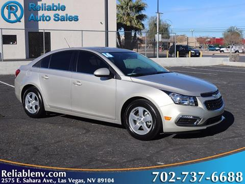 2016 Chevrolet Cruze Limited for sale in Las Vegas, NV
