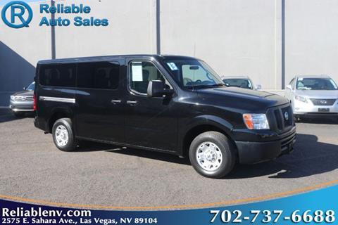 2013 Nissan NV Passenger for sale in Las Vegas, NV