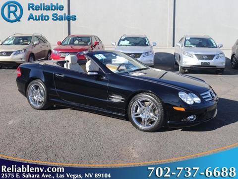 2008 Mercedes-Benz SL-Class for sale in Las Vegas, NV