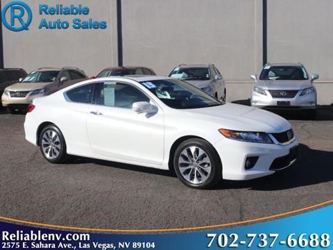 2013 Honda Accord for sale in Las Vegas, NV