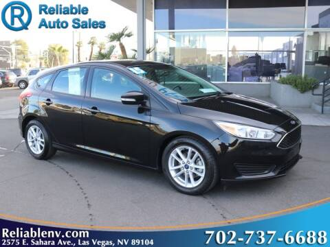 2015 Ford Focus for sale at Reliable Auto Sales in Las Vegas NV